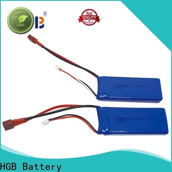 HGB rechargeable rc car battery manufacturer for RC helicopter