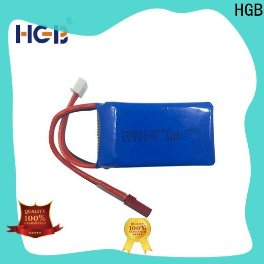 HGB Battery rc rechargeable batteries manufacturers for RC planes