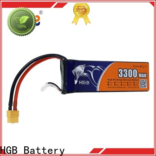 HGB li ion rc battery factory for RC quadcopters