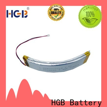 HGB flexible battery factory for multi-function integrated watch