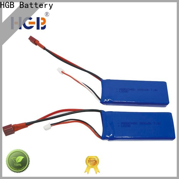 HGB High-quality rc battery manufacturer for RC helicopter
