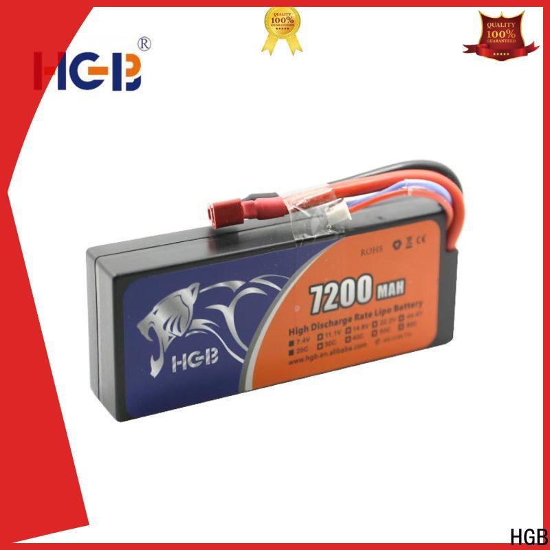 HGB advanced rc lithium ion battery wholesale for RC planes