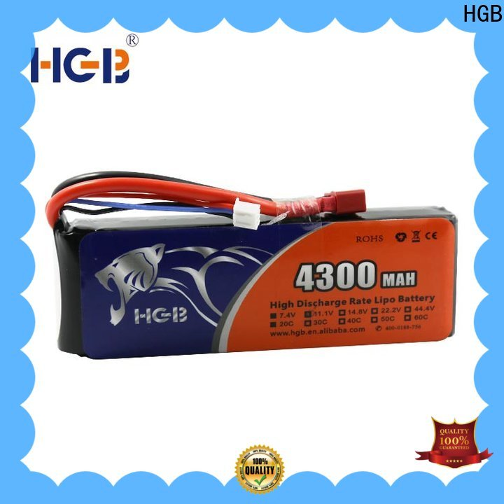 HGB Battery rc lithium polymer batteries Supply for RC car
