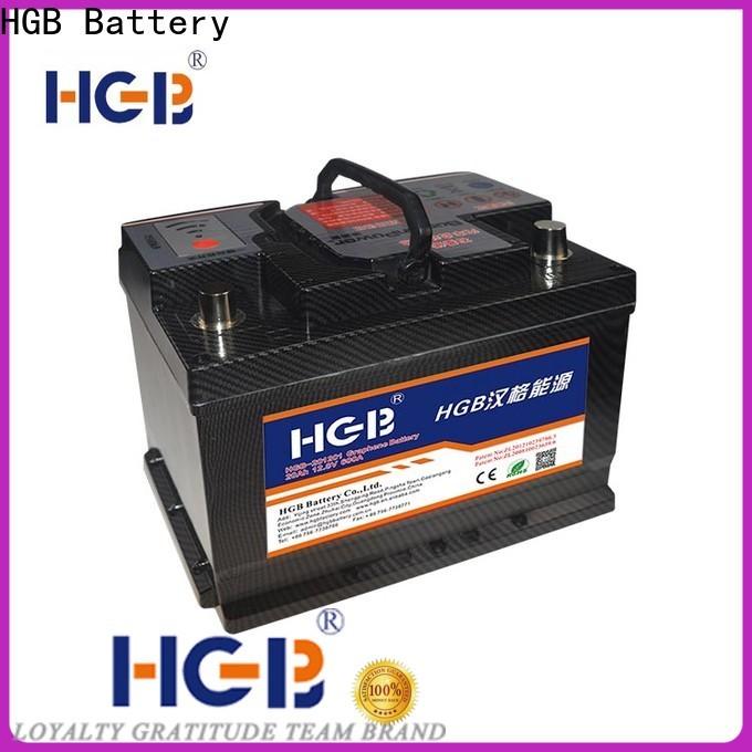 HGB rc graphene battery for business for vehicle starter