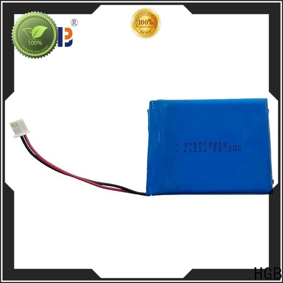 HGB flat lithium polymer battery for business for digital products