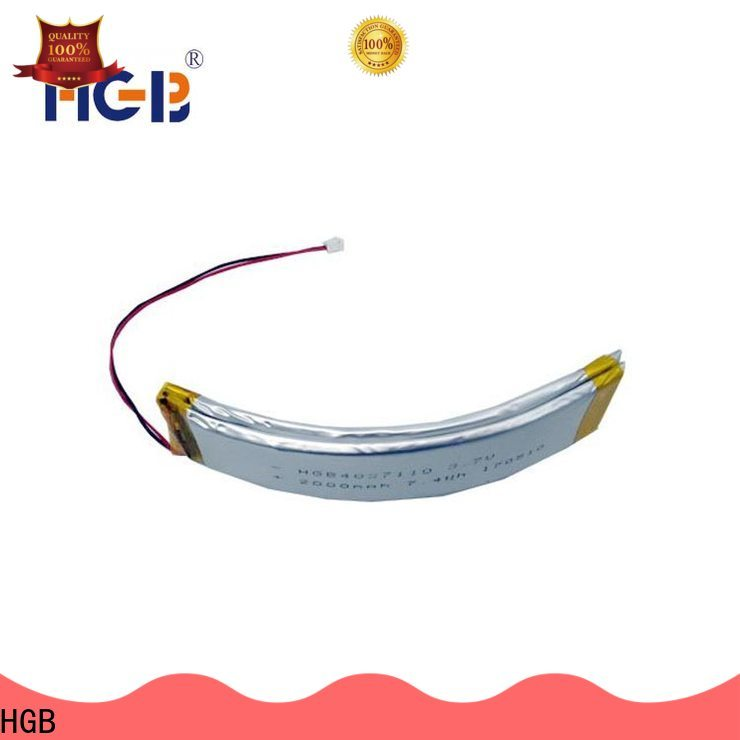 HGB HGB Battery curved battery company for smart bracelet