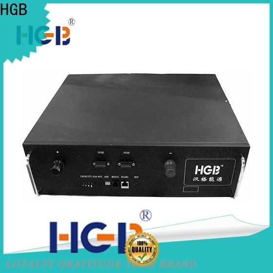HGB Custom lithium ion phosphate battery supplier for electric vehicles