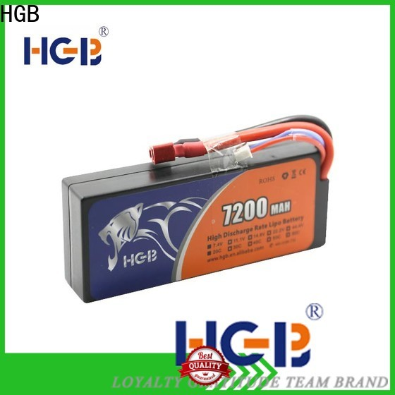 HGB popular lithium rc battery supplier for RC quadcopters