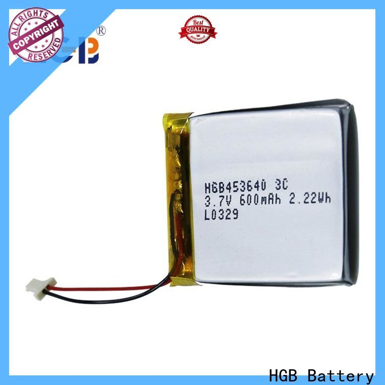 HGB thin lithium polymer battery factory price for mobile devices