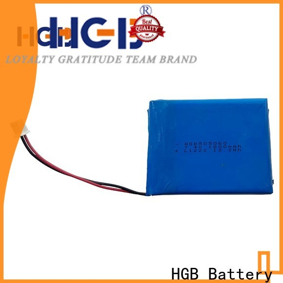 HGB thin rechargeable battery factory for mobile devices