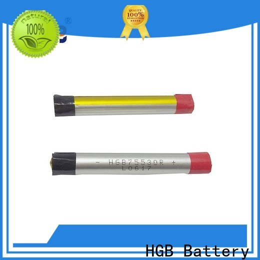 HGB Battery lithium polymer li poly batteries Suppliers for rechargeable devices