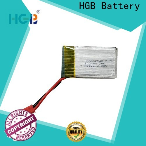 HGB professional rc model batteries supplier for RC quadcopters