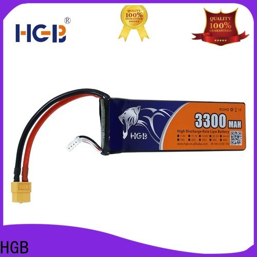 HGB rc airplane batteries supplier for RC helicopter