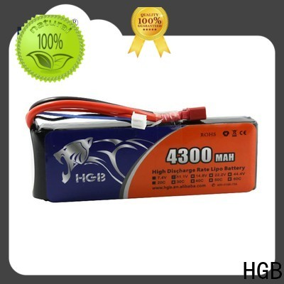 HGB New rc lithium ion battery supplier for RC helicopter