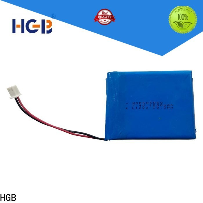 HGB rechargeable lithium polymer battery factory for notebook