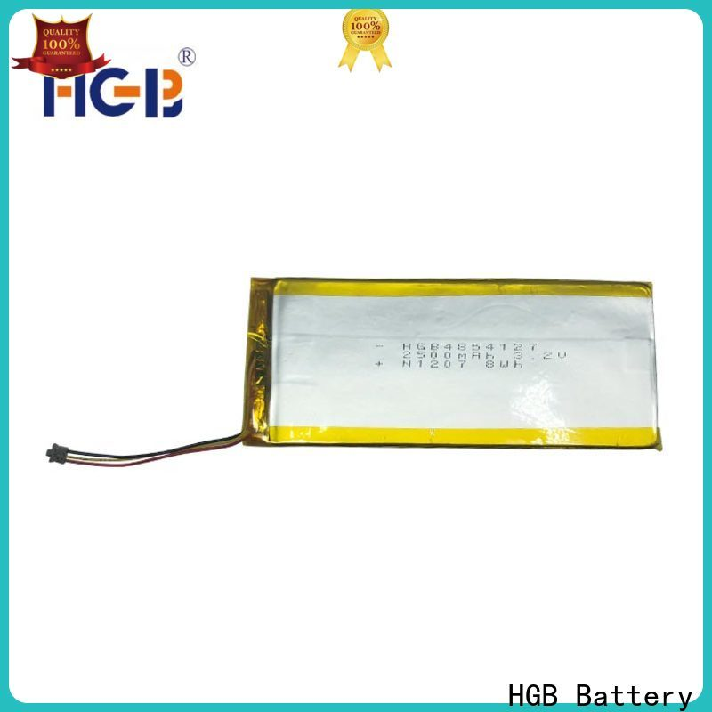 HGB flat lithium battery supplier for notebook