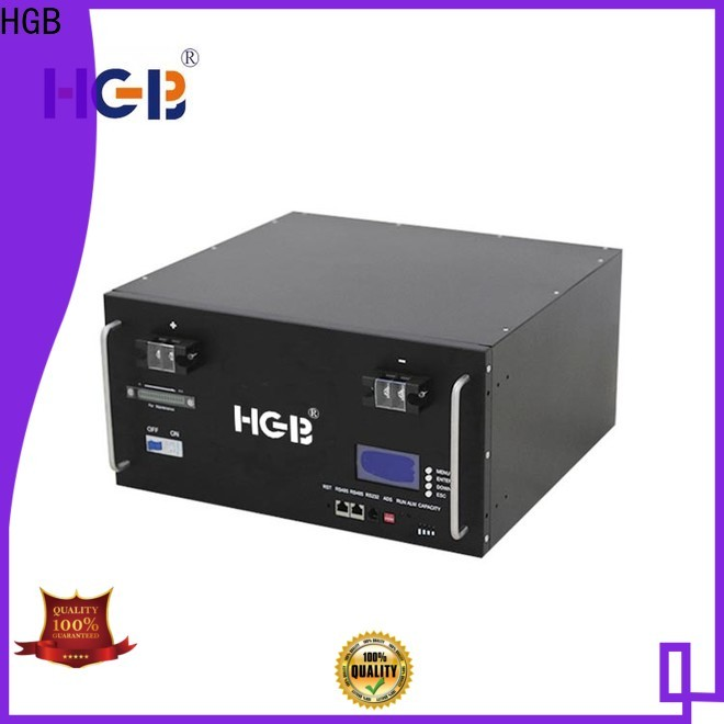 HGB lithium phosphate battery directly sale for Cloud/Solar Power Storage System