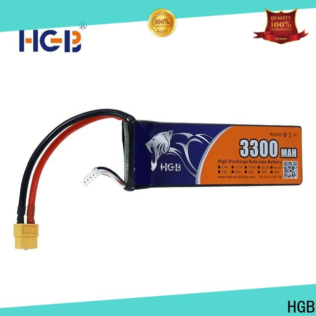 HGB Battery lithium rc battery supplier for RC quadcopters