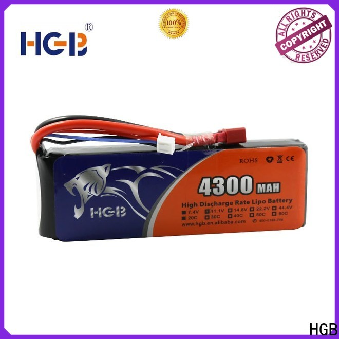 HGB New rc helicopter battery wholesale for RC planes