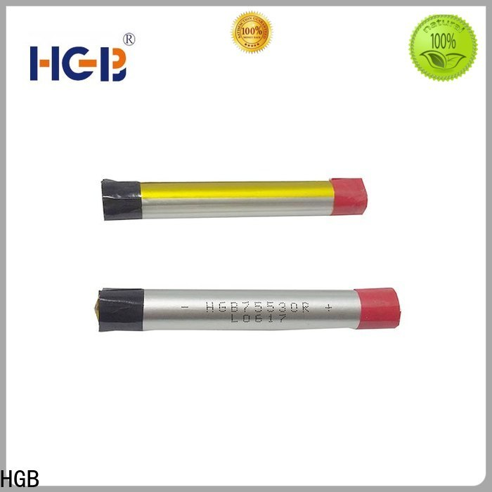 HGB non explosive ion polymer battery manufacturers for rechargeable devices