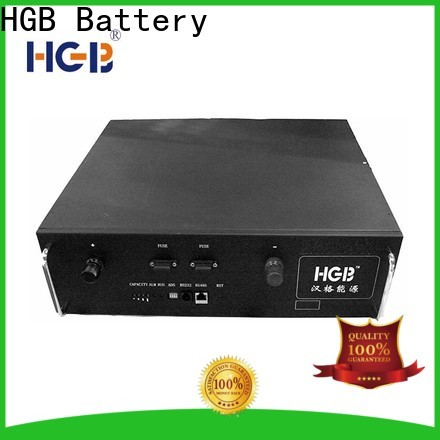 HGB lithium ion battery for telecom application directly sale for communication base stations
