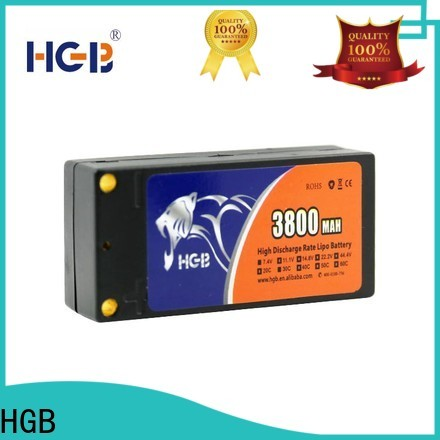 HGB lithium ion battery for rc planes supplier for RC helicopter