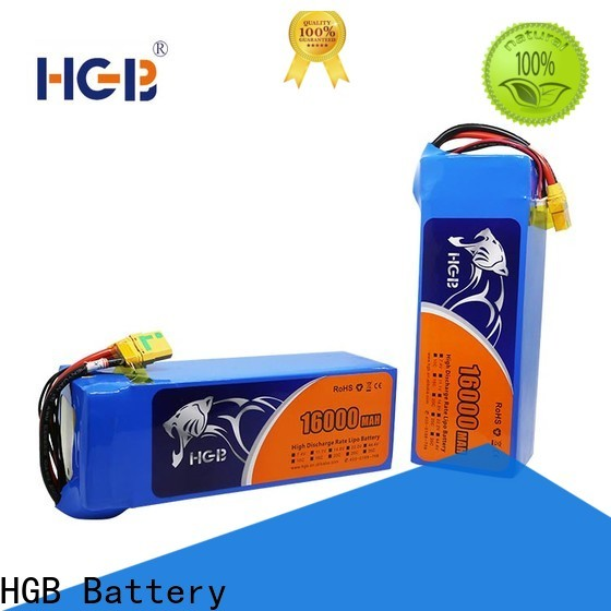 HGB Battery drone rechargeable battery manufacturer for UAV