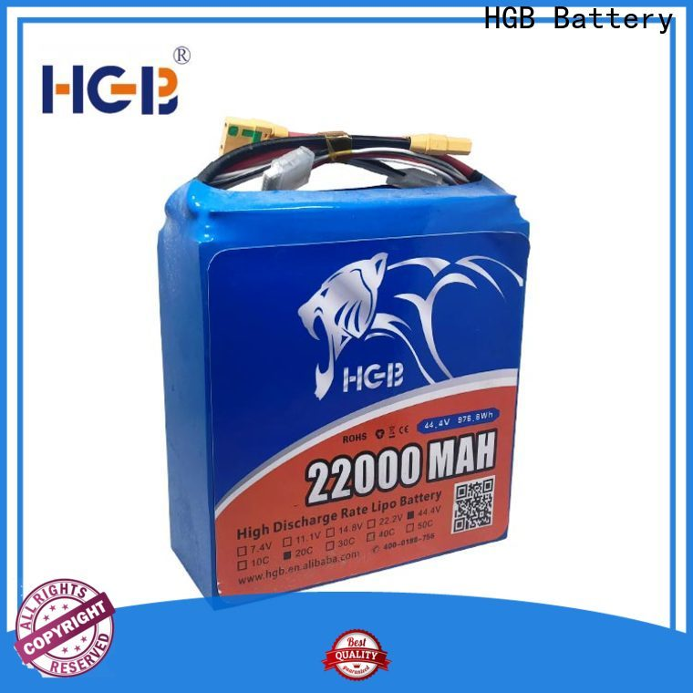 HGB charge quickly 7.4 v 2000mah drone battery manufacturers for UAV