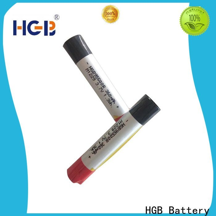 HGB e cig battery custom design for rechargeable devices