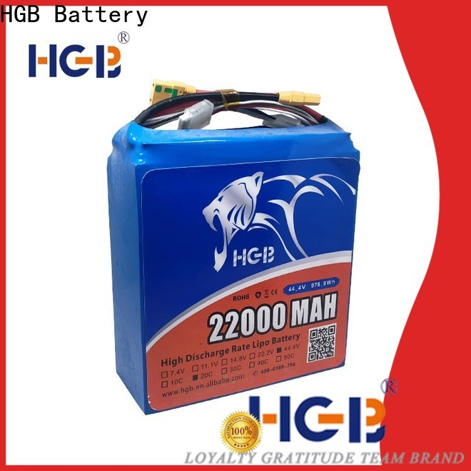 HGB Battery racing drone battery Suppliers for Aircraft