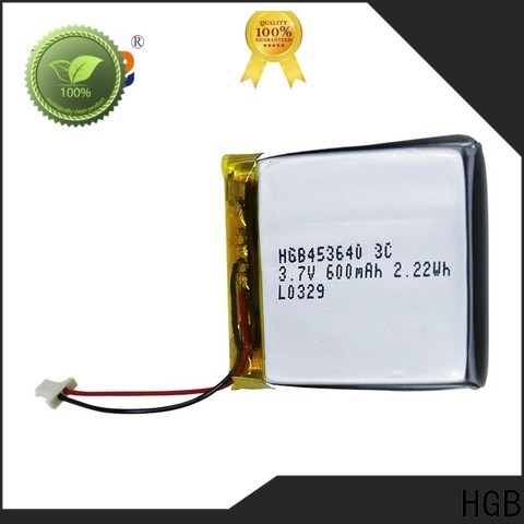 HGB Wholesale thin lithium polymer battery factory for digital products