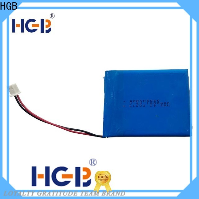 HGB Battery flat lithium battery directly sale for mobile devices