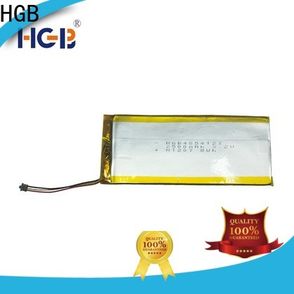 HGB rechargeable lithium polymer battery company for notebook
