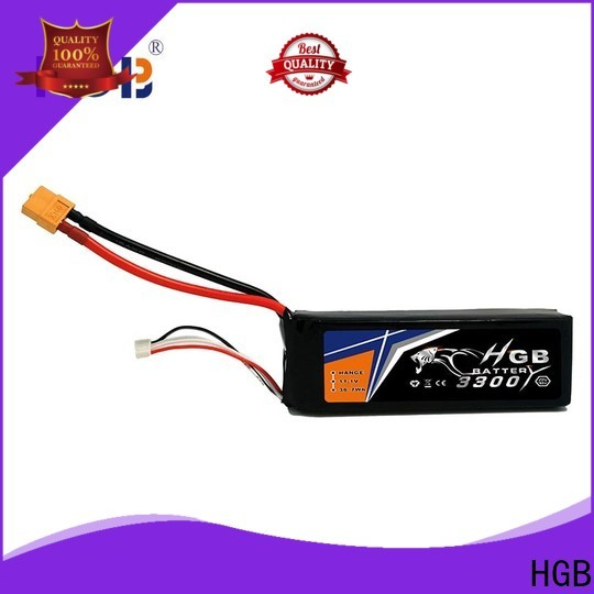 HGB high quality car battery rc company for RC car