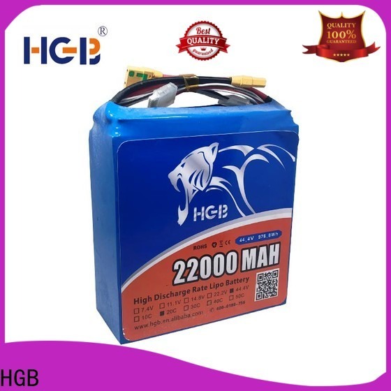 HGB charge quickly best drone battery for business for UAV