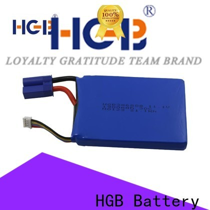 HGB high quality jump start battery pack company for race use