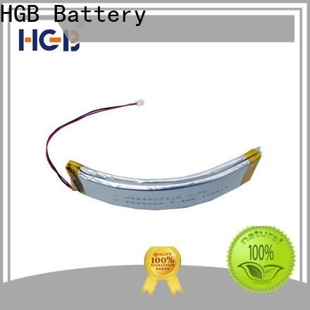 HGB Best flexible lithium battery design for smart bracelet