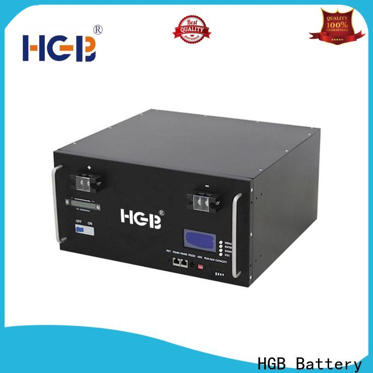 HGB lithium ion phosphate battery customized for electric vehicles