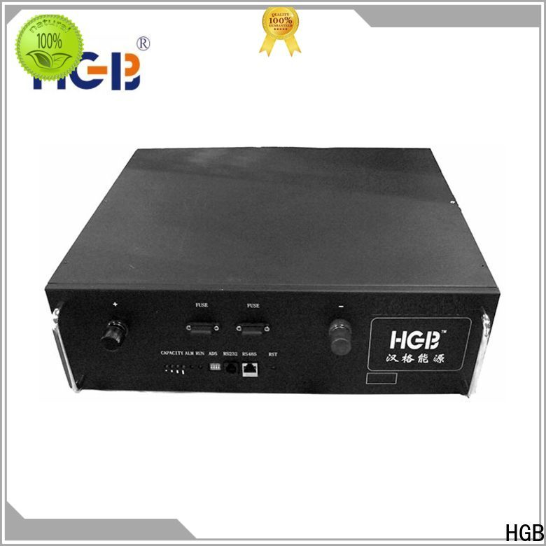 HGB lithium iron phosphate battery supplier for communication base stations