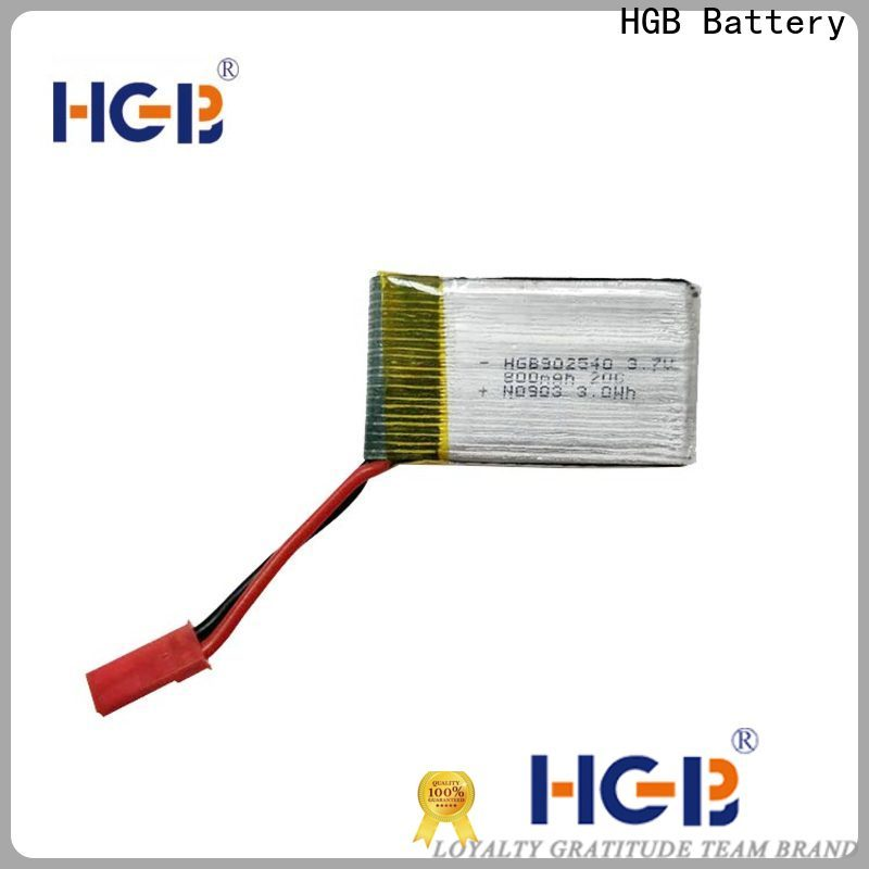 HGB professional lithium ion battery for rc planes wholesale for RC helicopter