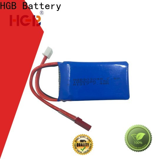 HGB lithium rc battery supplier for RC helicopter