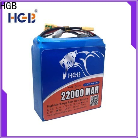 HGB durable best battery for racing drone company for UAV