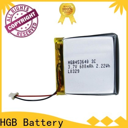 HGB thin rechargeable battery for business for mobile devices