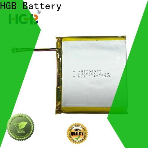 HGB light weight flat cell lithium ion battery Supply for mobile devices