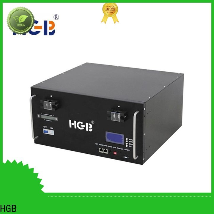 HGB Latest lithium ion battery for telecom application manufacturers for electric vehicles