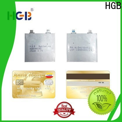 HGB ultra thin battery manufacturers for tracking devices
