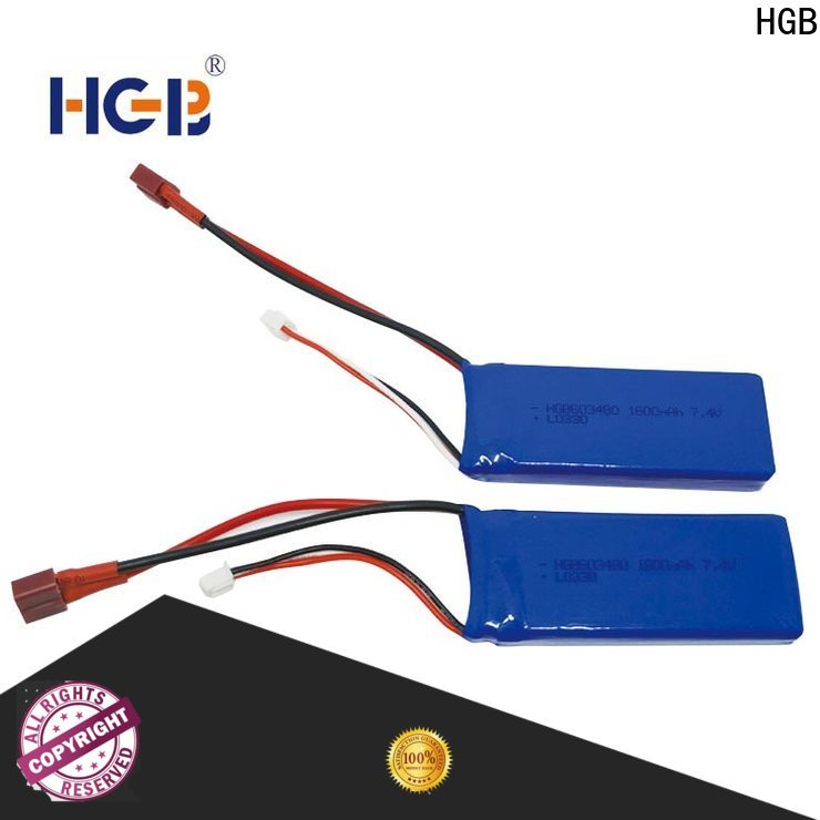 HGB lithium rc battery for business for RC helicopter