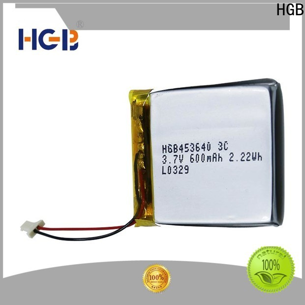 HGB Top thin rechargeable battery factory price for computers
