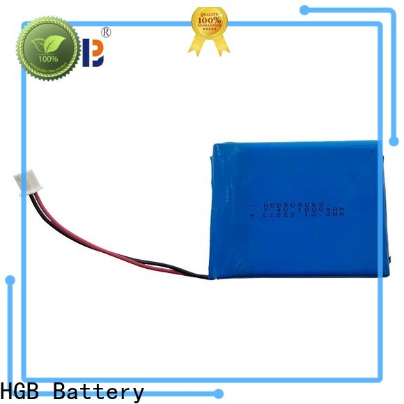 HGB popular thin lithium polymer battery manufacturers for computers