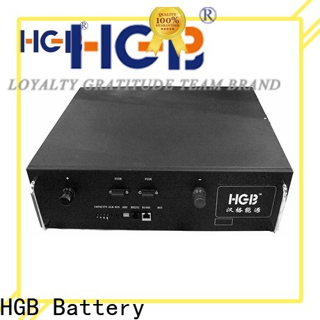 HGB Battery lithium phosphate battery manufacturers for communication base stations